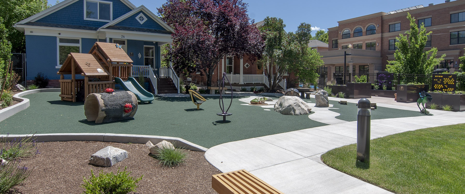Ronald McDonald House - The Park That Love Built