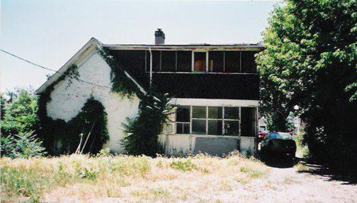 Rear View - Before the Renovation